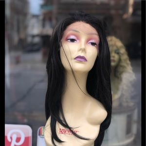 Dark Brown highlights 3 inch Freepart Wig 2020